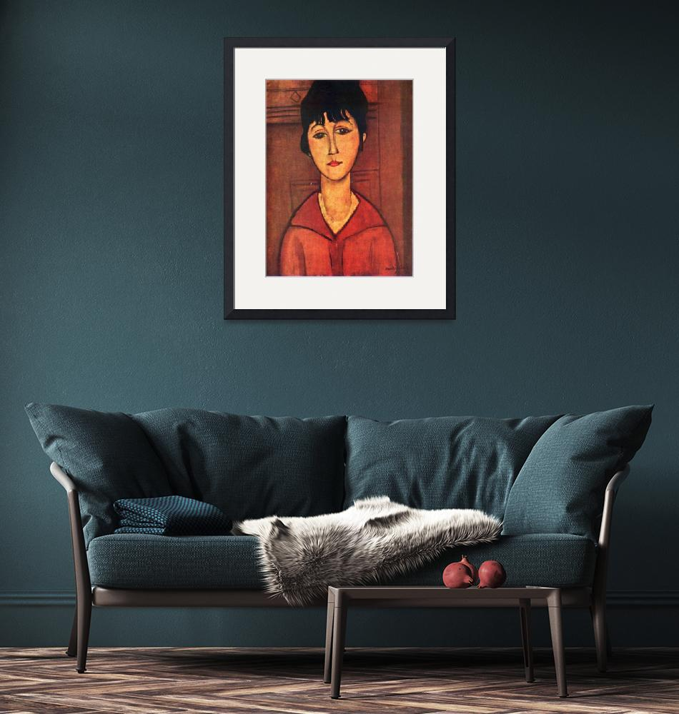 """""""Amedeo Clemente Modigliani Painting 20""""  by ArtLoversOnline"""