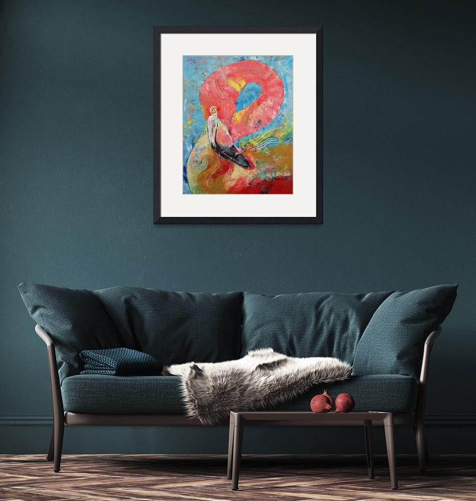 """""""Pink Flamingo""""  by creese"""