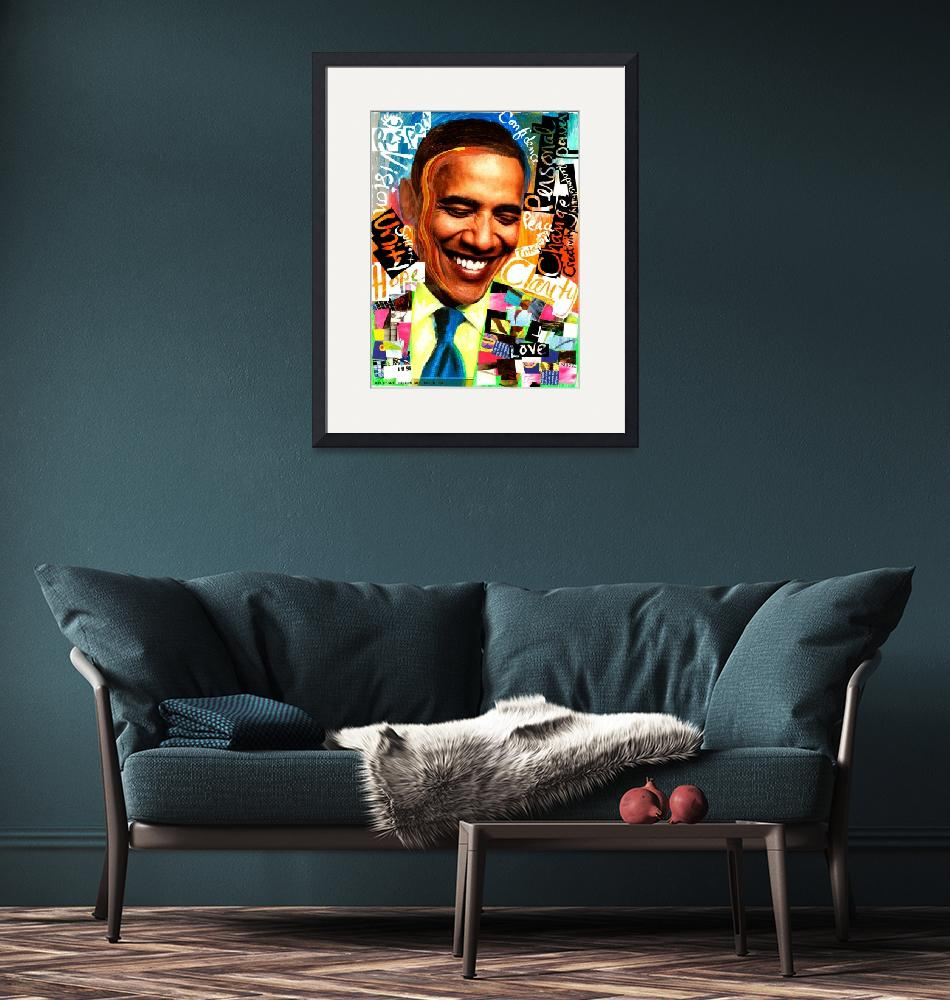 """""""Obama Art Serie""""  (2009) by mcturgeon"""