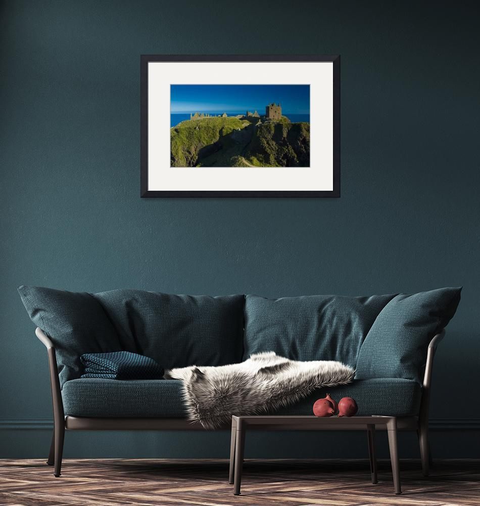 """Dunnotar Castle, Stonehaven, Scotland""  (2008) by kingafoto"