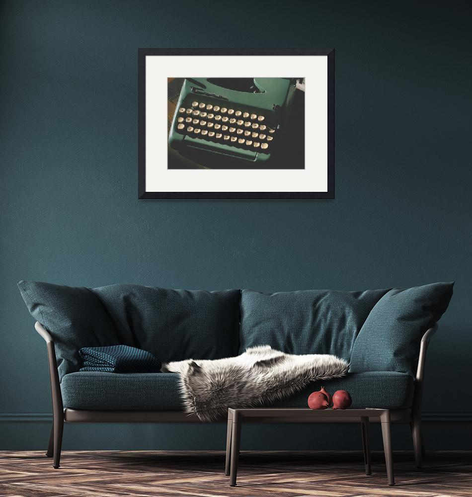 """""""Typewriter""""  (2011) by CPLUSYPHOTOGRAPHY"""