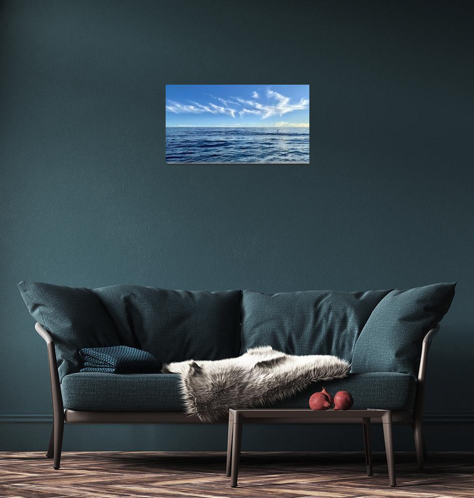 """Ocean Blue""  (2020) by ChrisSeufert"