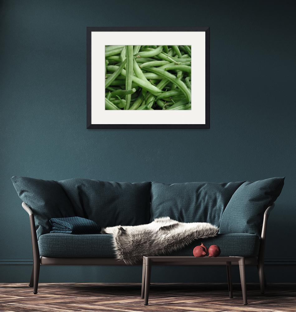"""""""Green Beans""""  (2011) by kimmerhaw"""