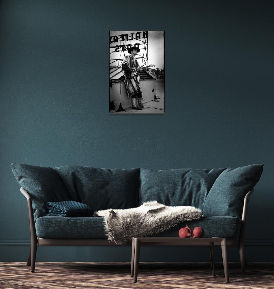 """""""Stevie Ray Vaughan""""  by StephenStickler"""