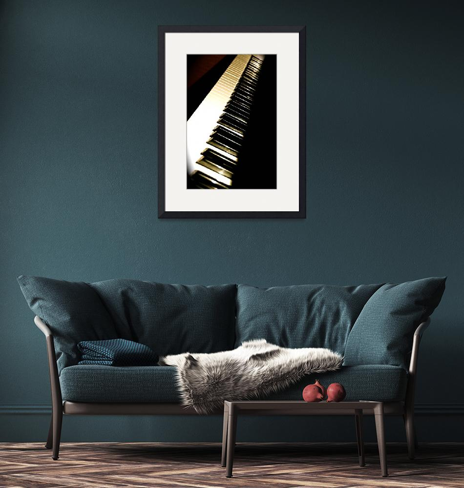 """""""Piano""""  (2008) by kateheinen"""
