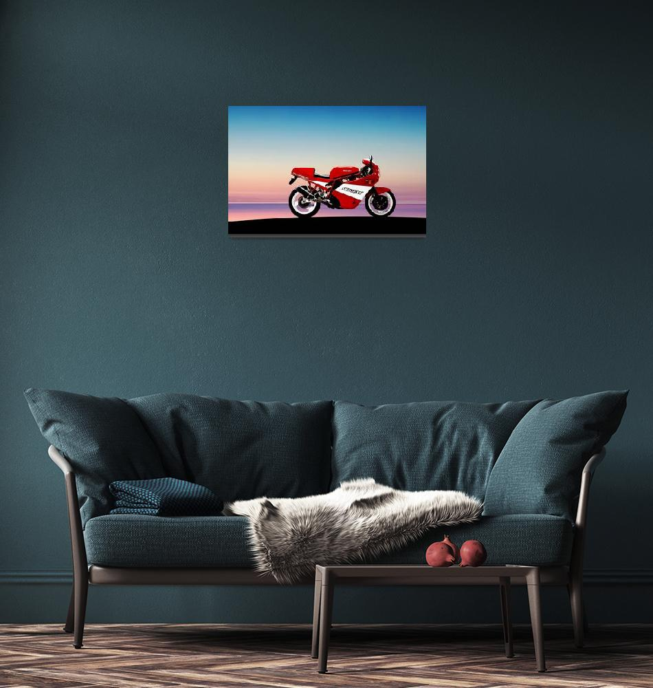 """Ducati 900 Super Sport""  by mark-rogan"