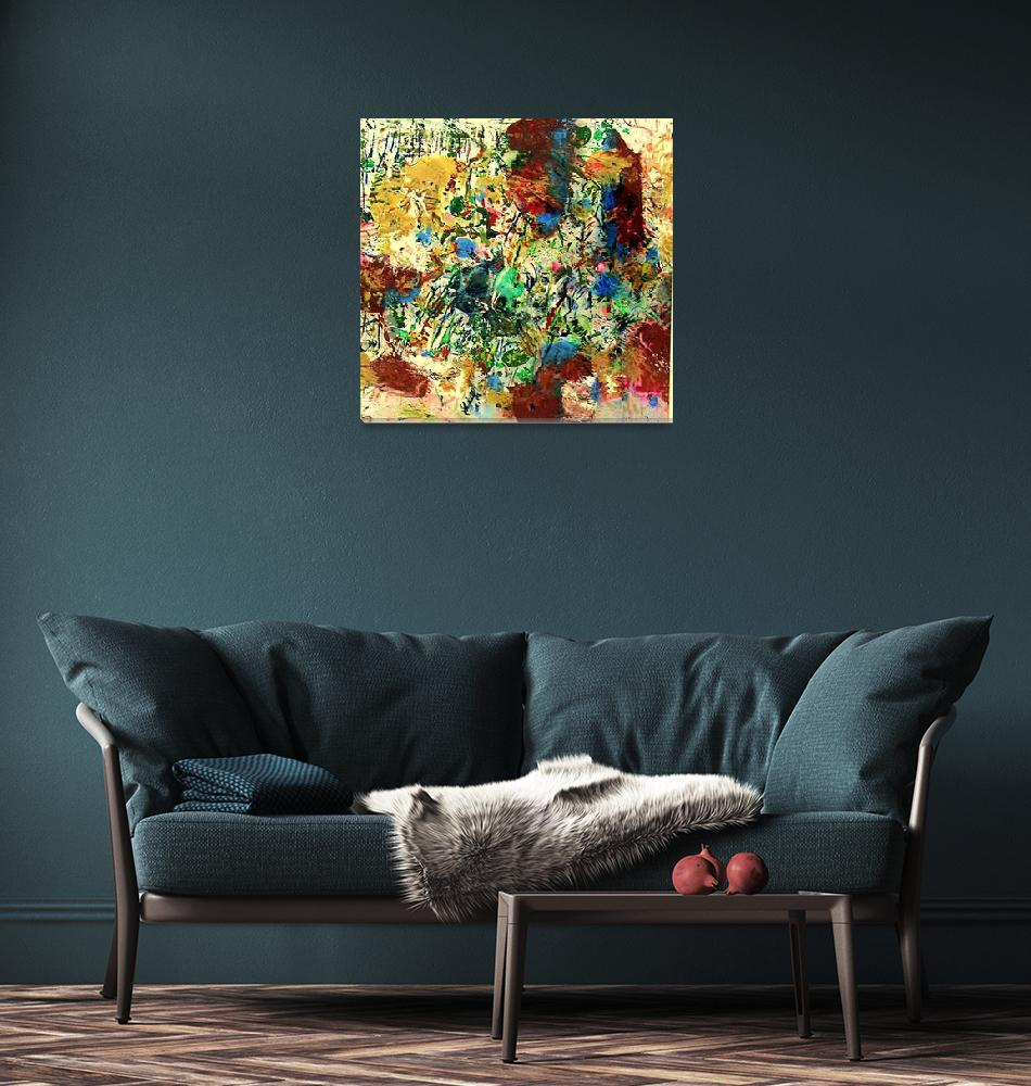 """""""Explosion of Flowers 1 of 2""""  (2011) by MuirArt"""