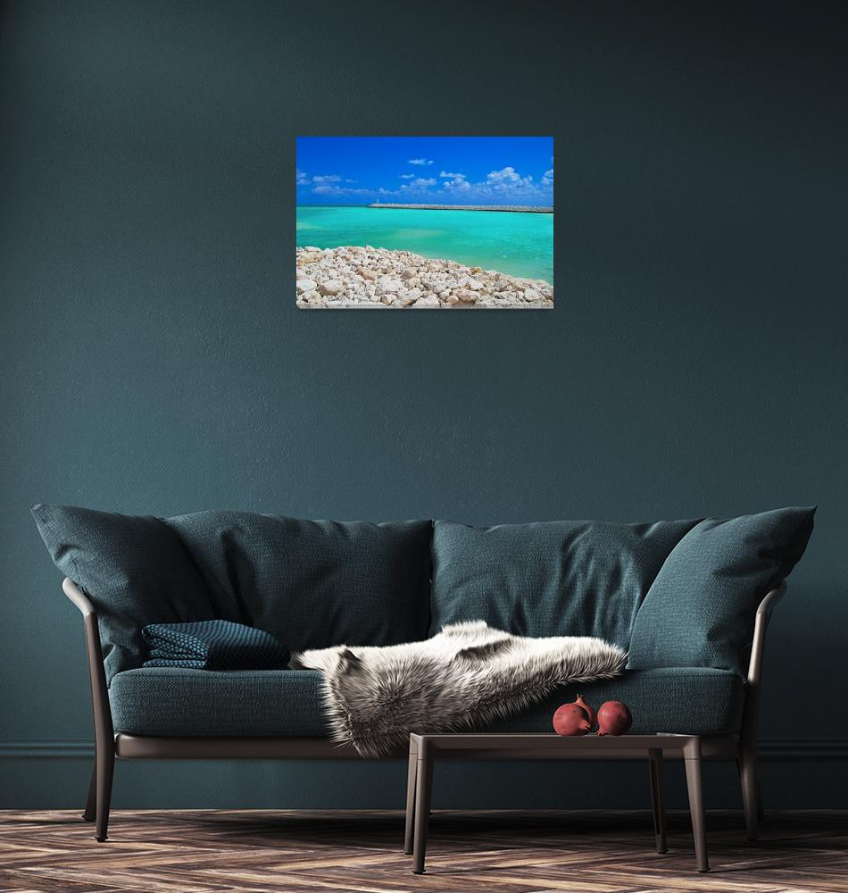 """""""Caribbean Blue""""  (2009) by ImageArt-Photography"""