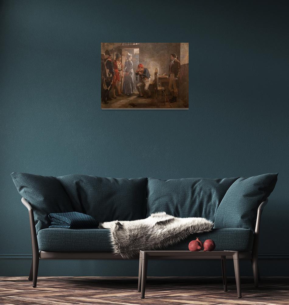 """Carlota Corday by Arturo Michelena""  by FineArtClassics"
