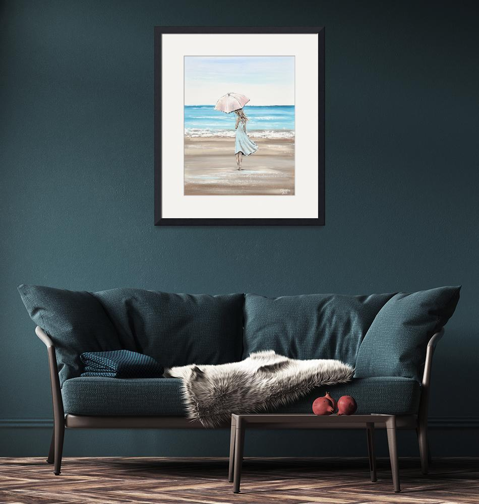 """""""Just a Beach Girl at Heart""""  by ChristineBell"""