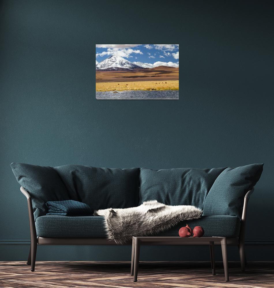 """Desert landscape IV""  by DianaC"