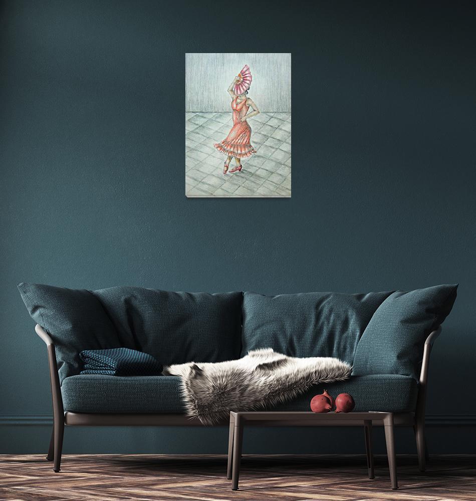 """""""Spanish dancer""""  (2012) by thuraya"""