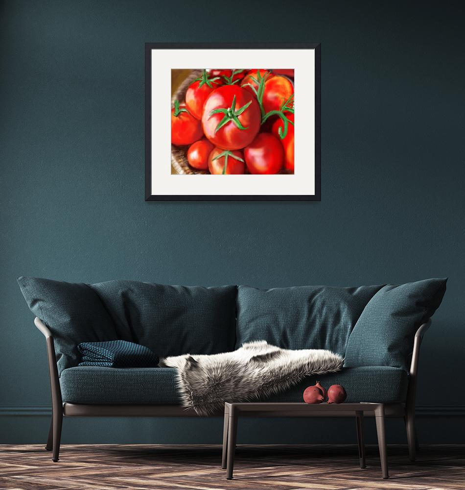 """""""The Tomato Basket"""" (2014) by lincolnhowes"""