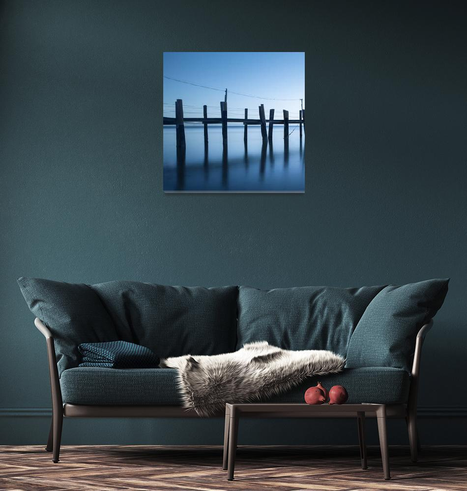"""China Camp Panoramic one of two""  by artlicensing"