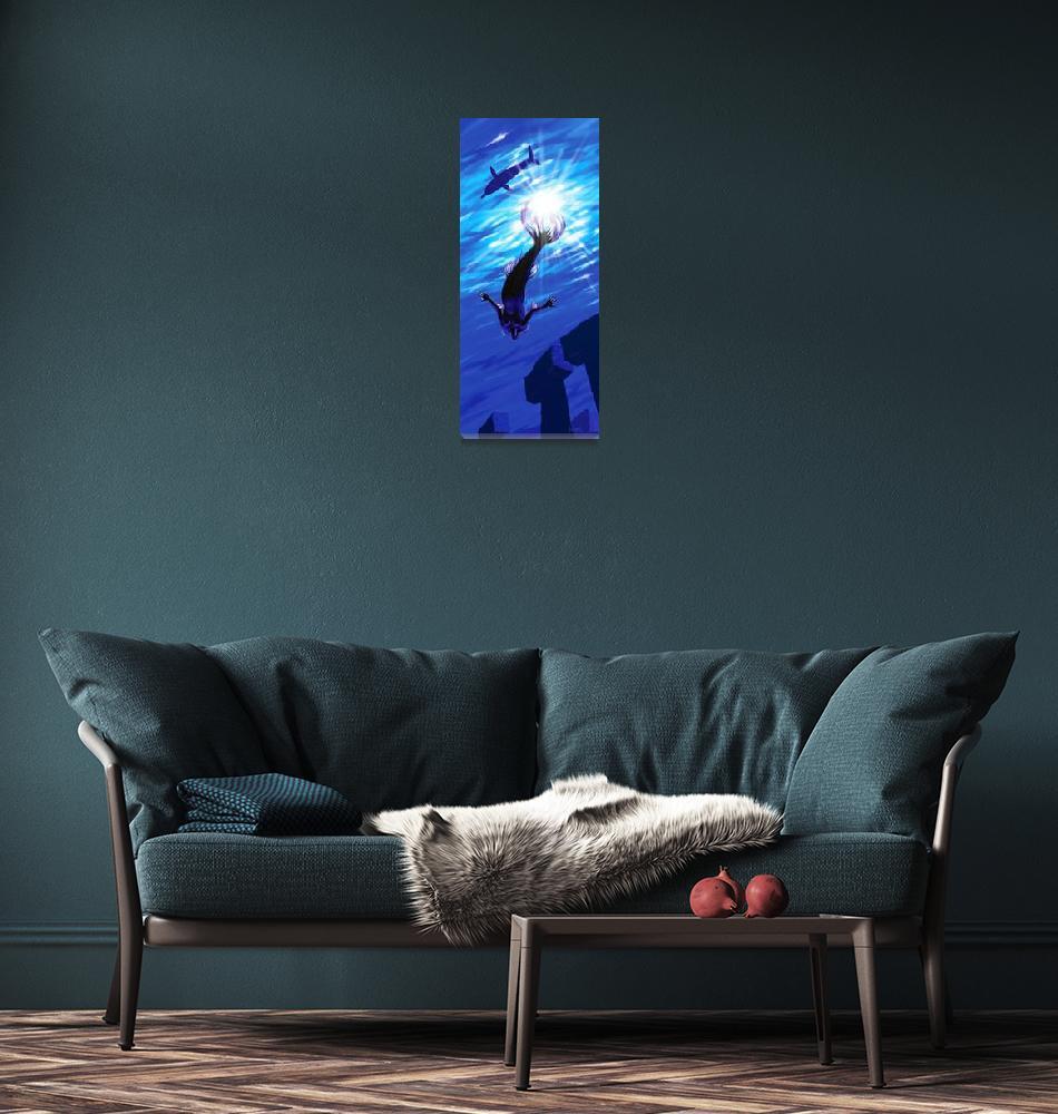 """Mermaid of Atlantis""  (1997) by williamli"