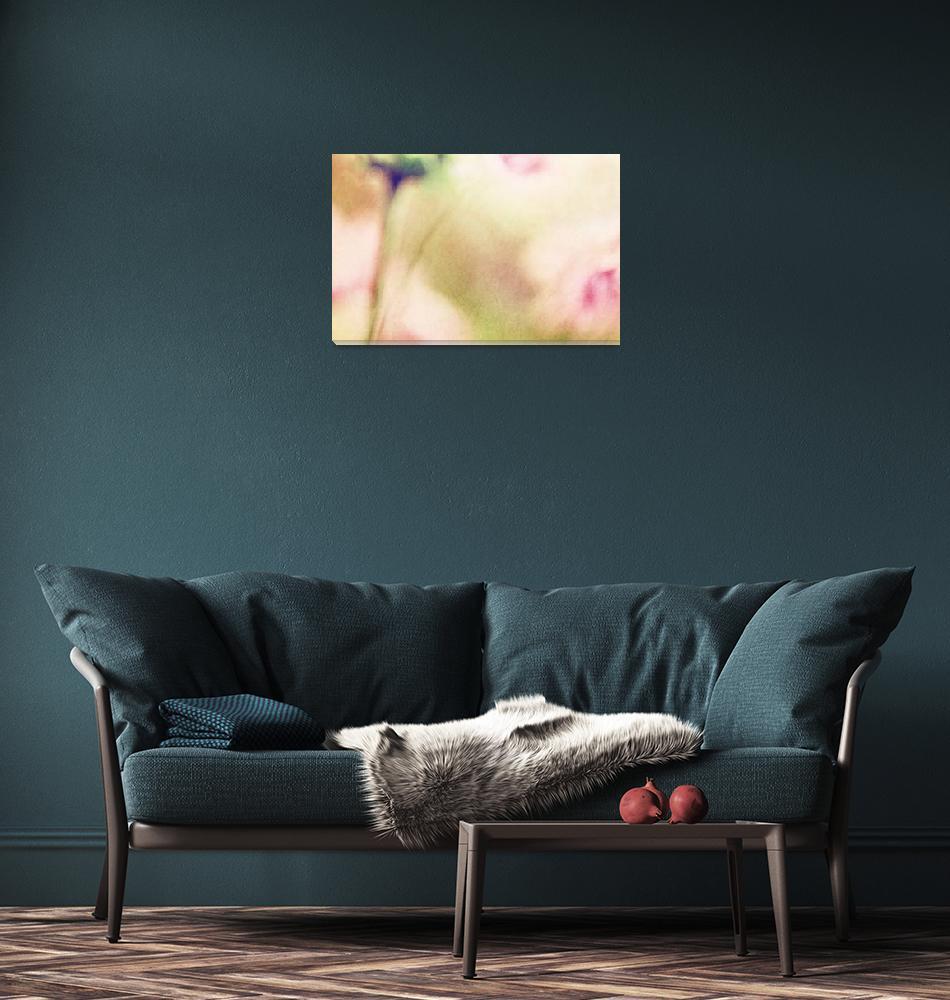 """""""Dream Flower Abstract 2 of 2""""  (2013) by NatalieKinnear"""