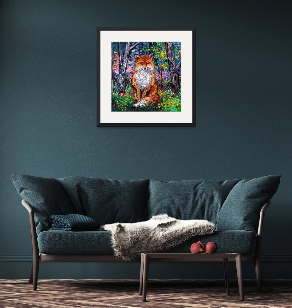 """""""The Red Fox""""  by SagittariusGallery"""