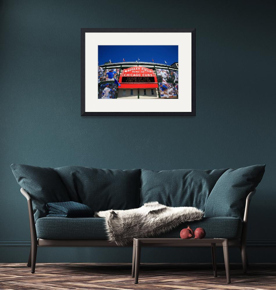 """""""Chicago - Wrigley Field 2010 #4""""  (2010) by Ffooter"""