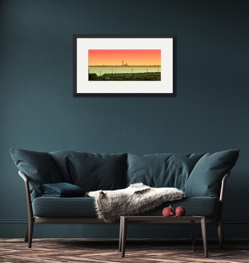 """""""Cape Cod : Provincetown Panorama"""" (2013) by ChrisSeufert"""