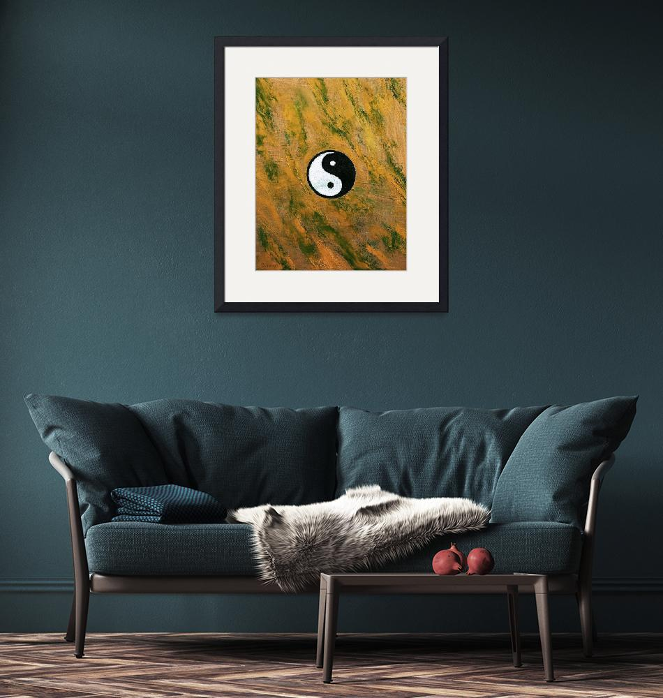 """Yin Yang Stone""  by creese"