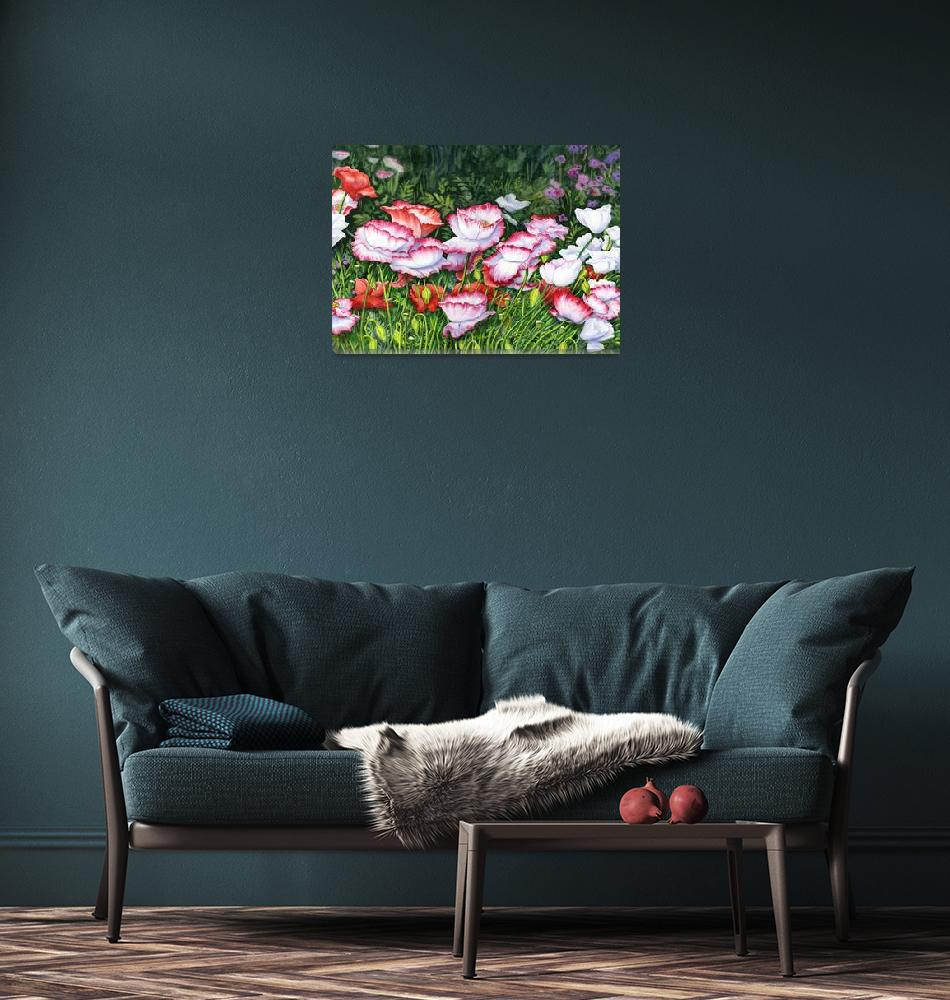 """""""Iceland Poppies""""  (2013) by msrite1"""