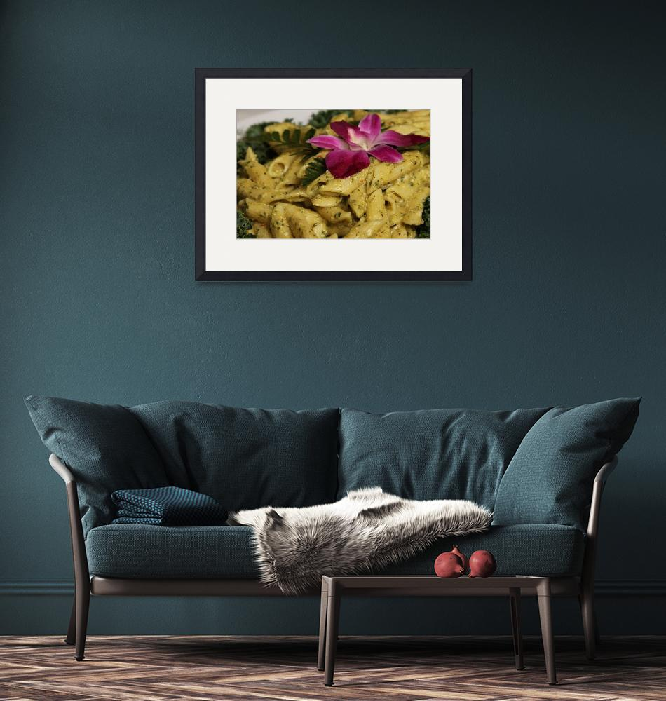 """""""Penne Pasta Dish""""  by Alleycatshirts"""