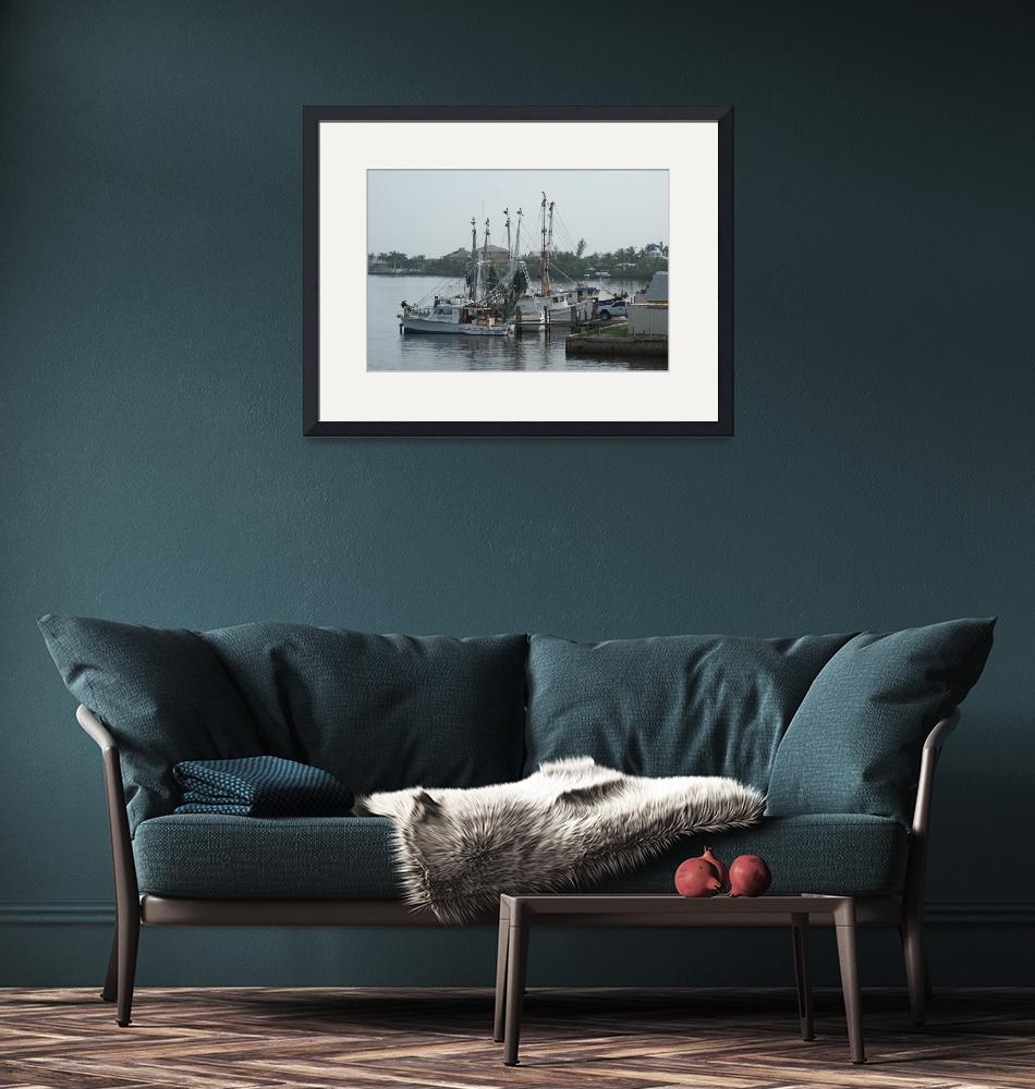 """""""Fishing Boats at rest""""  by Darrin"""