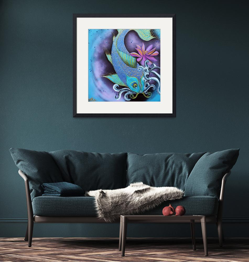 """Dragon Fish""  (2015) by ArtPrints"