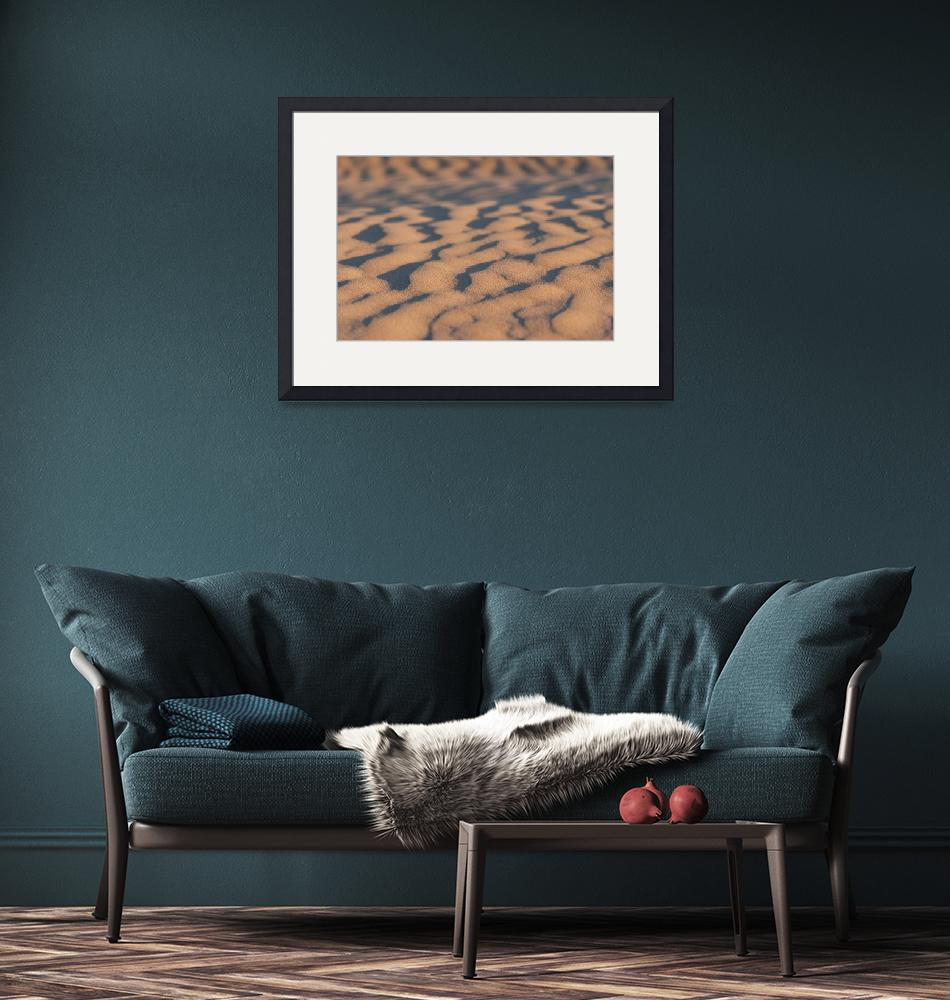 """""""Sand ripples""""  (2009) by willhl"""