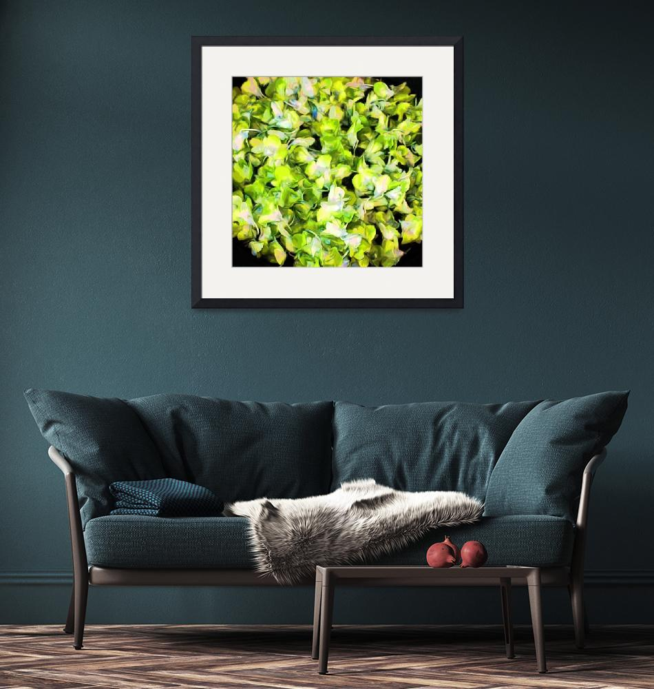 """""""Orchid Bowl greens""""  (2009) by LeslieTillmann"""