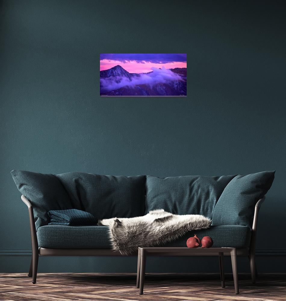 """""""Lco022-3 Never Summer Mountains II -""""  (2013) by Williamcastner"""