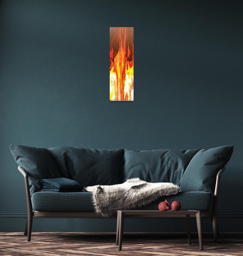 """Campfire"" (2012) by LizMoran"