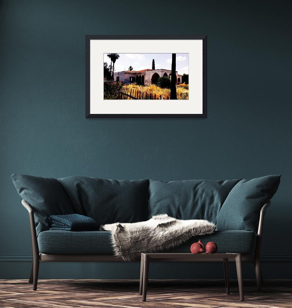 """""""Nicosia Ruined Building, Cyprus""""  by Artsart"""