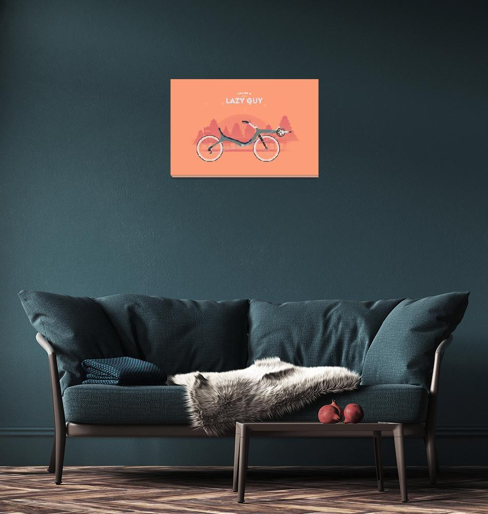 """""""Lazy Guy""""  (2013) by cyclemon"""