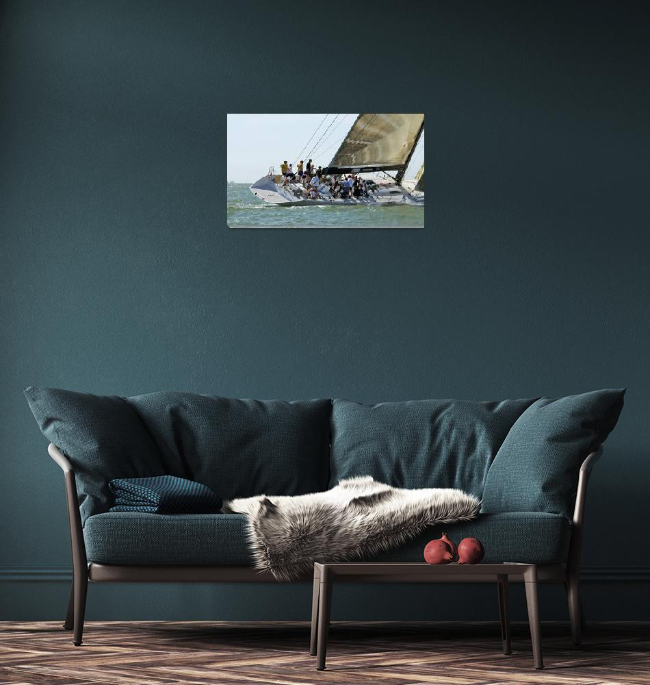 """Yacht Racing 2""  (2007) by gwpics"