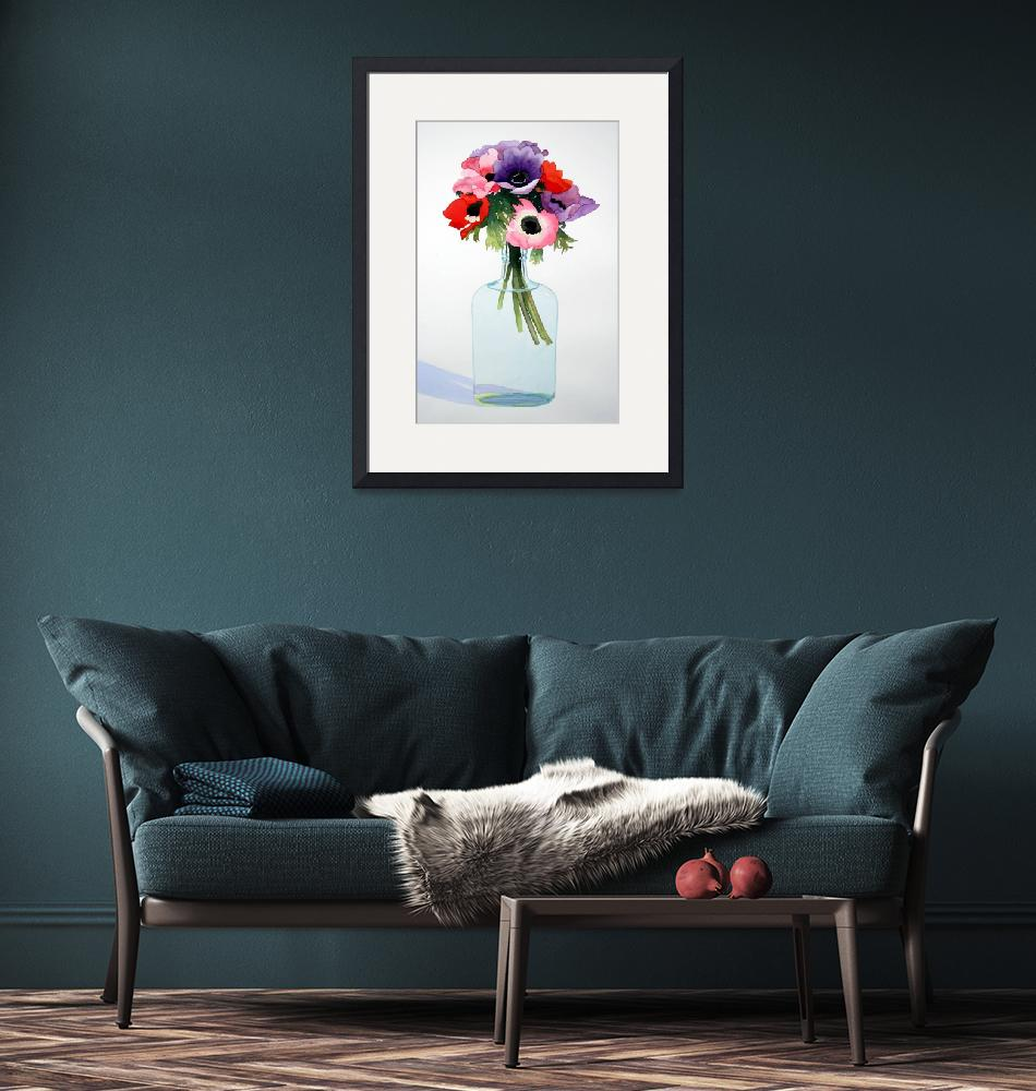 """""""Anemones in a Bottle""""  by studiobythesound"""
