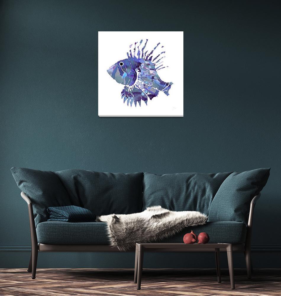 """FantaSea Fish  #1""  (2008) by FantaSeaArt"