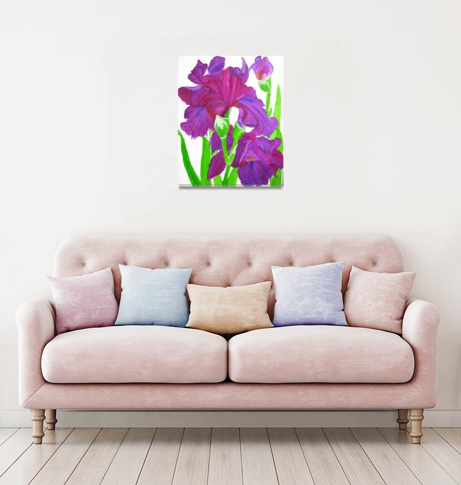 """""""Irises-vanishing beauty""""  (2009) by elajanus"""