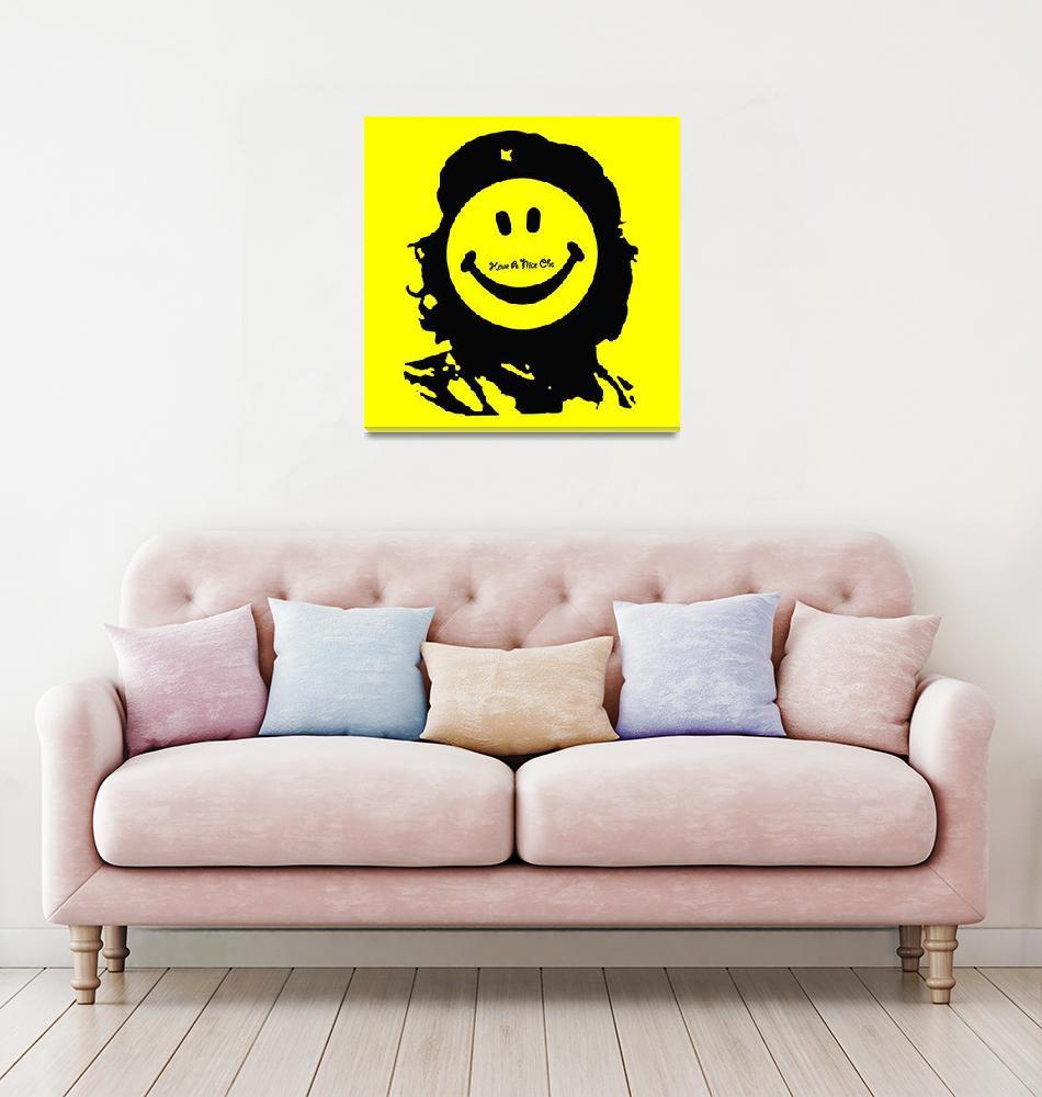 """Have A Nice Che Guevara""  (2018) by RubinoFineArt"