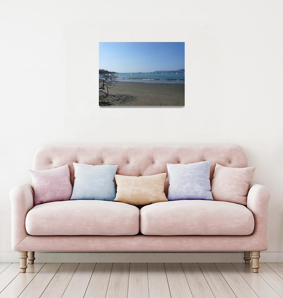 """Flamingo Beach, Costa Rica""  (2009) by BruceCR"