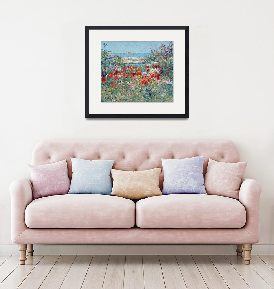"""Childe Hassam Celia Thaxter Garden Isles of Shoals""  by PDGraphics"