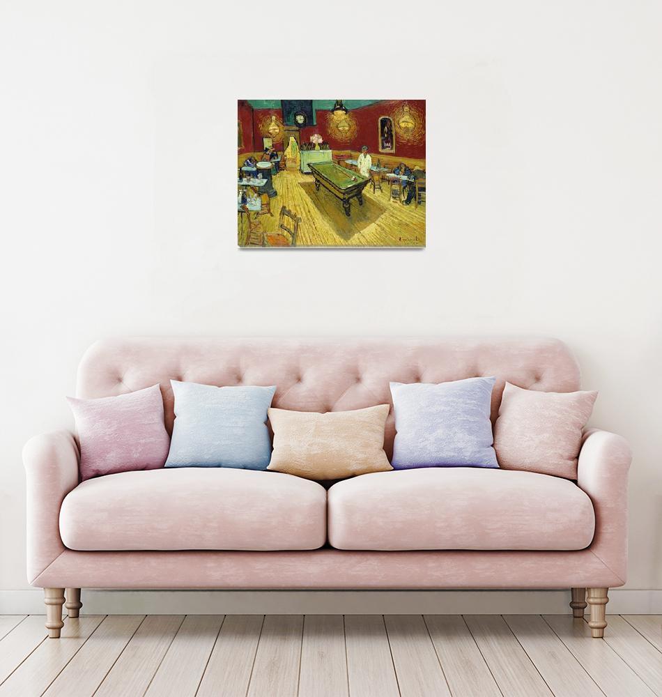 """The Night Café by Van Gogh"" by FineArtClassics"