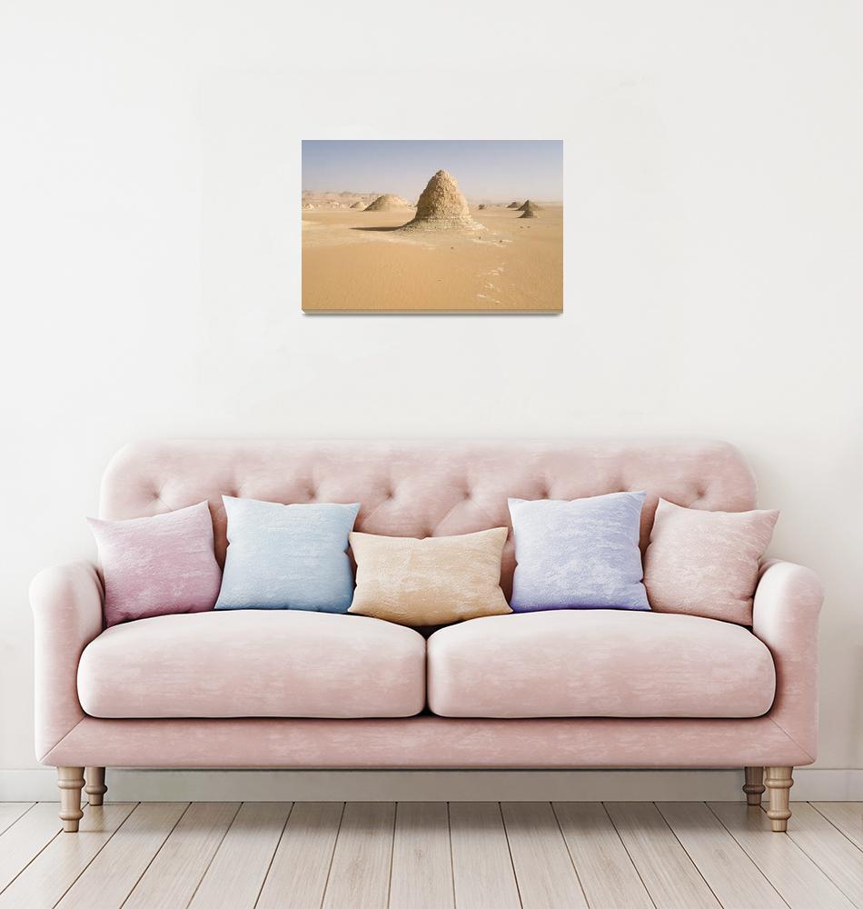"""Sahara Formations - Desert Photography""  (2009) by johnzada"