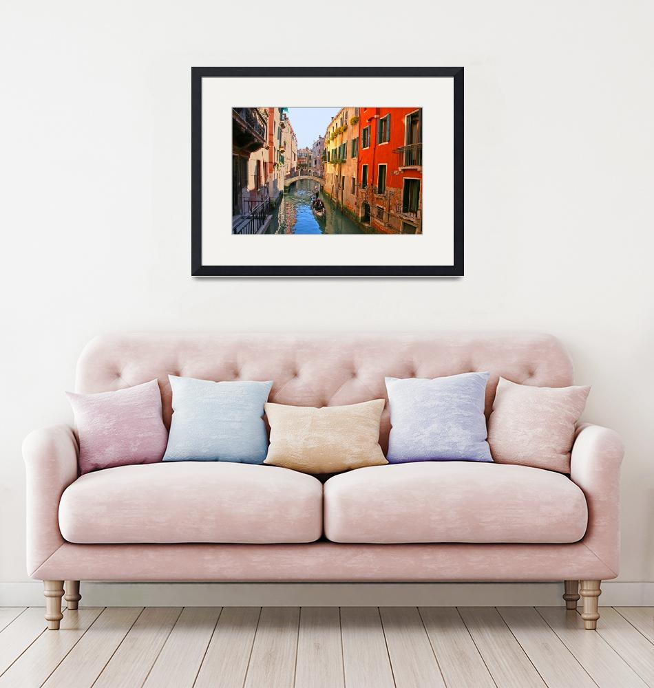 """""""Tranquil Venice canal beauty""""  (2008) by marywhitmer"""