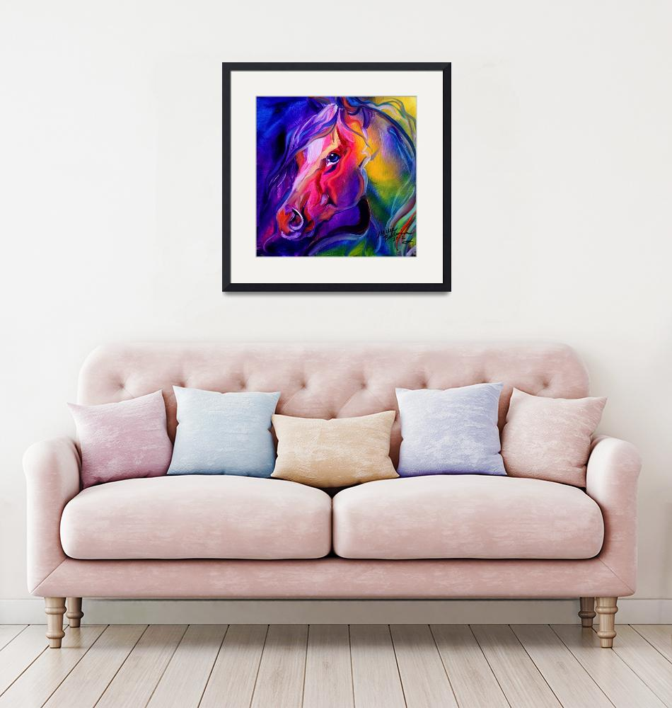 """""""EQUINE PRISM I""""  (2012) by MBaldwinFineArt2006"""