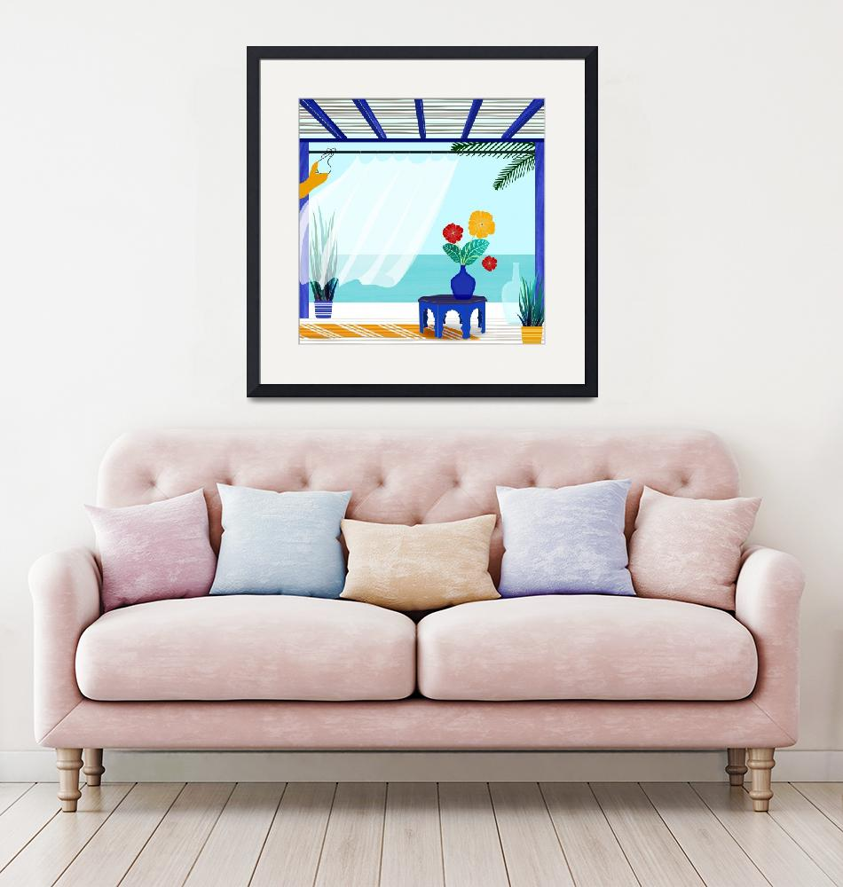 """""""Ocean View""""  (2018) by moderntropical"""