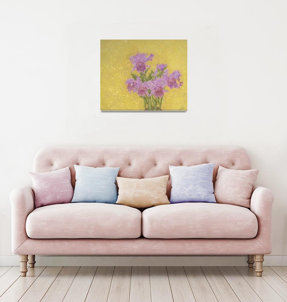 """Fine Art Prints Orchids Flowers Orchids Wall Art""  (2008) by BasleeTroutman"