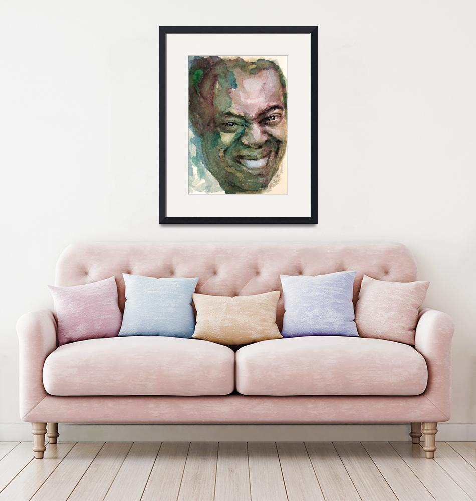 """""""Louis Armstrong (3)""""  (2013) by Lauriduc"""