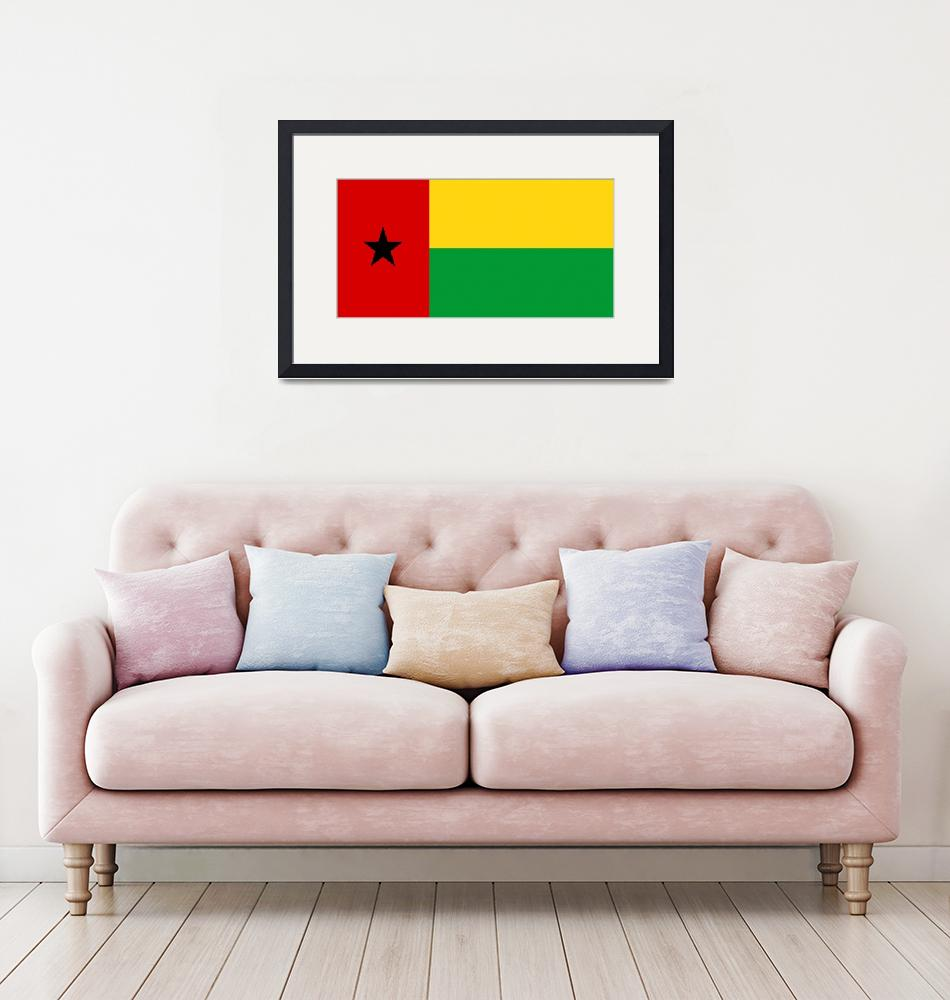 """Guinea-Bissau""  by tony4urban"