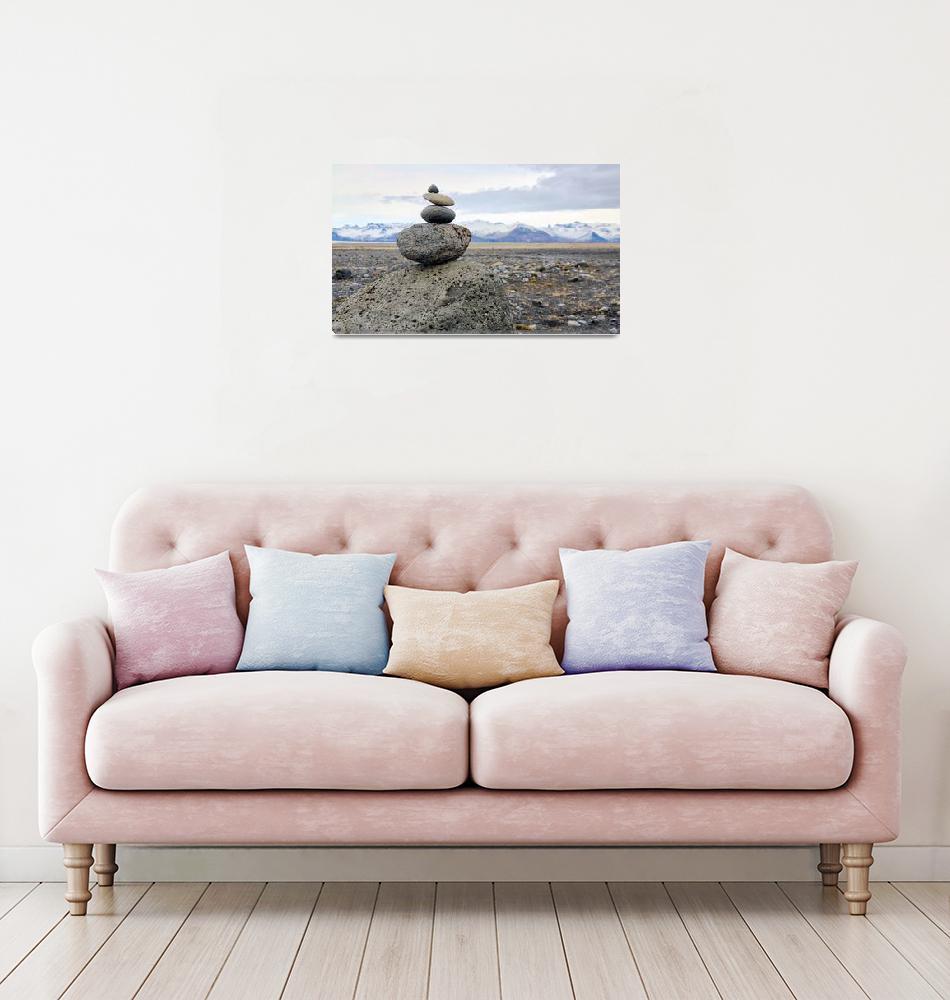 """Icelandic Cairn (Haoldukvisl)""  (2016) by ChrisSeufert"
